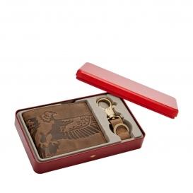Fossil tegnebog med møntlomme